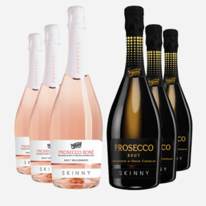 Mixed Case of Skinny Prosecco 1754 and Rosé 1754