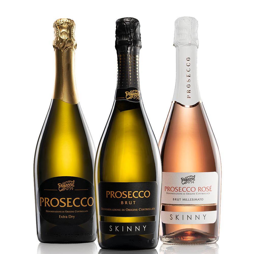 Skinny Standard and Rose Prosecco